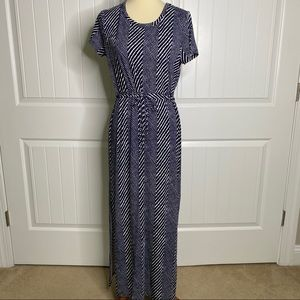 Michael Kors clinch waist maxi dress size large